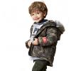 Chlapčenská zimná bunda LOSAN SNOWBOARD khaki