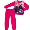 Dievčenské pyžamo DISNEY FROZEN ANNA a ELSA tmavoružové