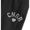 Dievčenské legíny CANGURO HEART čierne