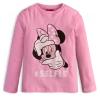Dievčenské tričko Minnie SELFIE ružové