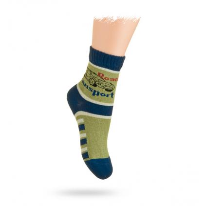Ponožky, vzor AUTO