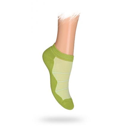 Detské ponožky, vzor PRÚŽKY