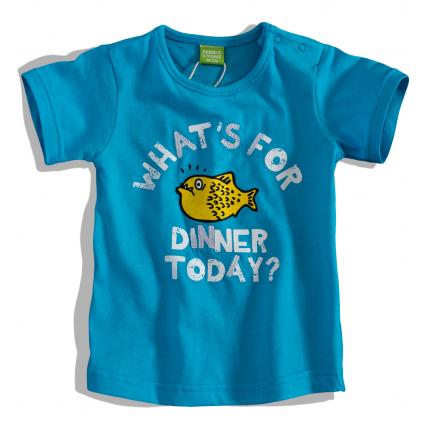 Dojčenské tričko s krátkym rukávom PEBBLESTONE