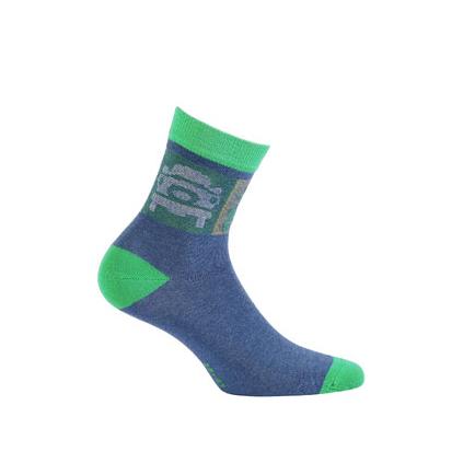 Chlapčenské ponožky GATTA, vzor AUTÁ GATTA