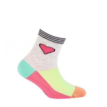 Dojčenské ponožky WOLA SRDCE