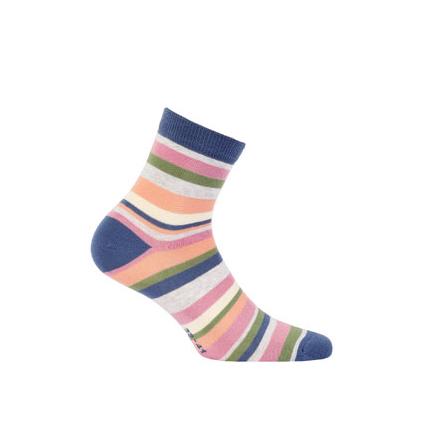 Detské ponožky WOLA prúžky
