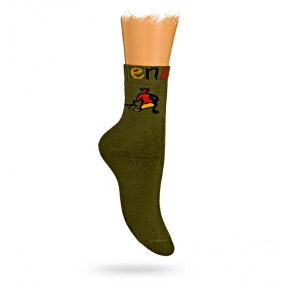 Detské termo ponožky, vzor ENERGY