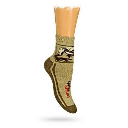 Detské termo ponožky, vzor SPRINT
