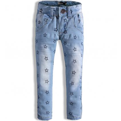 Dievčenské džínsy DIRKJE HVIEZDIČKY modré