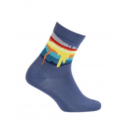 Chlapčenské ponožky GATTA COLOURS modré