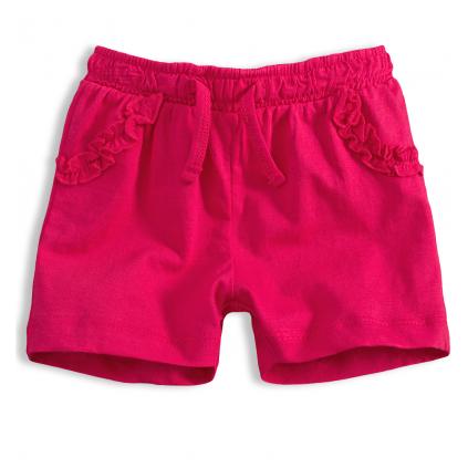 Dievčenské šortky KNOT SO BAD FRILL ružové