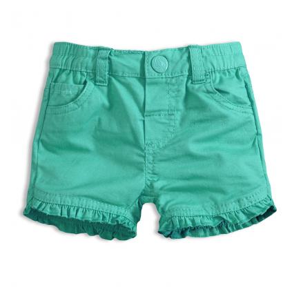Dievčenské šortky KNOT SO BAD BABY zelené