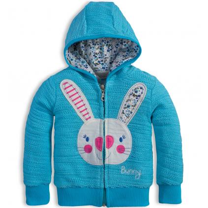 Mikina pre dievčatá Mix´nMATCH BUNNY modrá