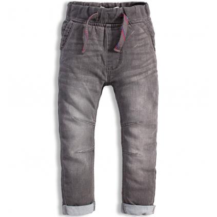 Detské džínsy MINOTI FLY šedé