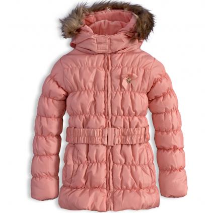 Dievčenská zimná bunda KNOT SO BAD HEART ružová