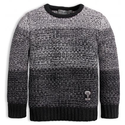 Chlapčenský sveter KNOT SO BAD RUSH šedý