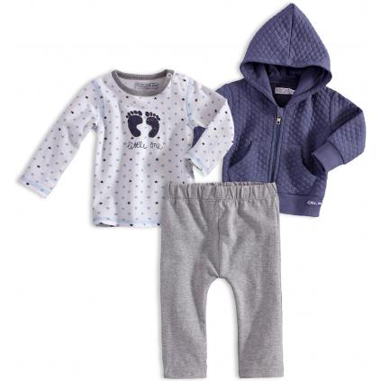 Dojčenská chlapčenská súprava DIRKJE LITTLE ONE tmavomodrá