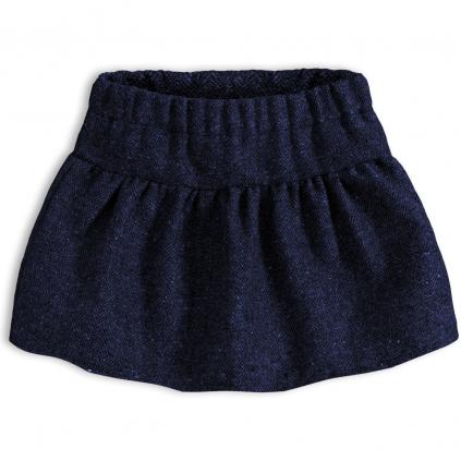Dievčenská sukňa KNOT SO BAD PERFECT STYLE modrá