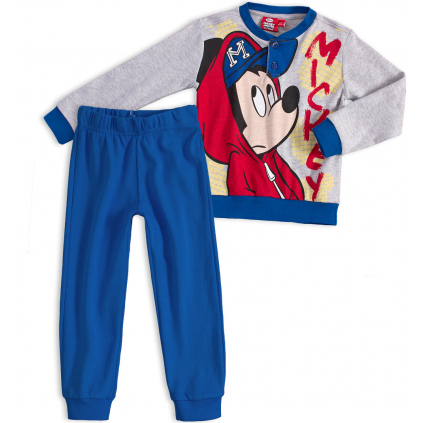 Chlapčenské pyžamo DISNEY MICKEY MOUSE šedé