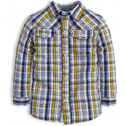 Chlapčenská košeľa KNOT SO BAD EASY žltá