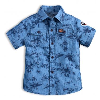 Chlapčenská košeľa KNOT SO BAD AMAZING modrá