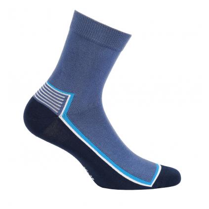 Chlapčenské ponožky GATTA PRÚŽOK modré