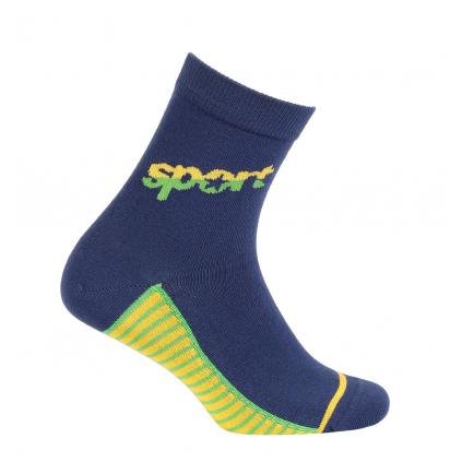 Chlapčenské ponožky so vzorom WOLA SPORT modré