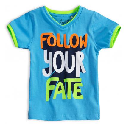 Chlapčenské tričko KNOT SO BAD FOLLOW modré