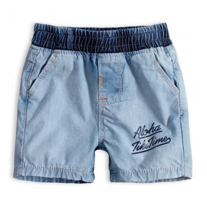 Detské šortky KNOT SO BAD ALOHA svetlo modré