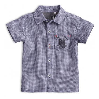Detská košeľa KNOT SO BAD FREE STYLE tmavo modrá