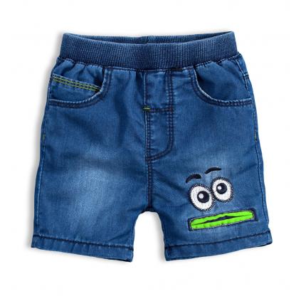 Detské šortky KNOT SO BAD EYES zelená