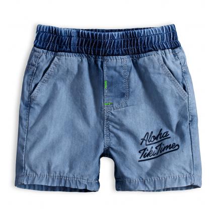 Detské šortky KNOT SO BAD ALOHA stredne modré