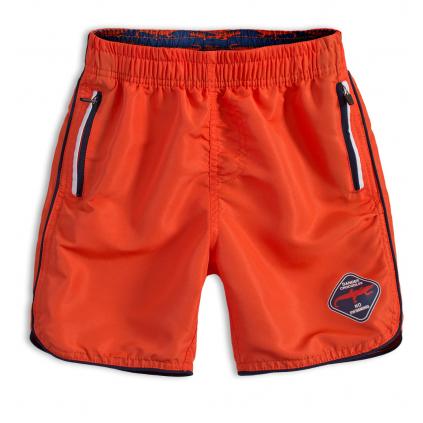 Chlapčenské kúpacie šortky KNOT SO BAD DANGER oranžové