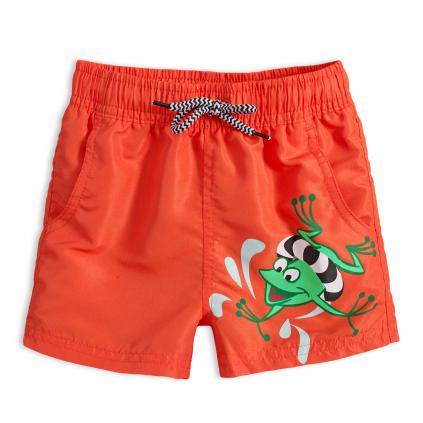 Chlapčenské plavky KNOT SO BAD FROG oranžové
