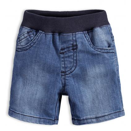 Dojčenské šortky KNOT SO BAD BAD BOY modré