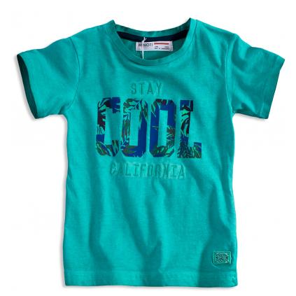 Chlapčenské tričko krátky rukáv MINOTI STAY COOL zelené