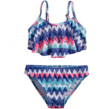 Dievčenské plavky DIRKJE SUNSET modré
