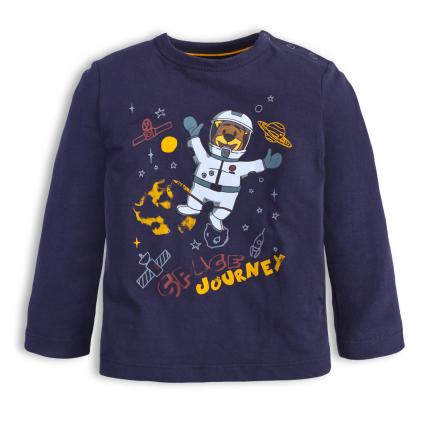 Detské tričko KNOT SO BAD KOZMONAUT modré