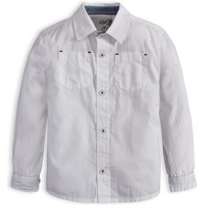 Chlapčenská košeľa KNOT SO BAD SUPER biela