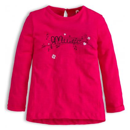 Dievčenské tričko KNOT SO BAD MUSIC ružové