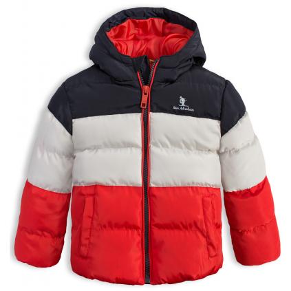 Detská zimná bunda LEMON BERET MINI ADVENTURES červená
