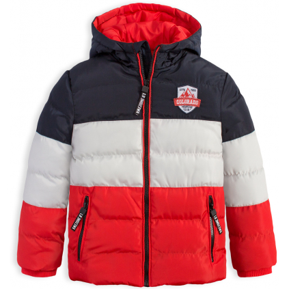 Chlapčenská zimná bunda LEMON BERET COLORADO červená