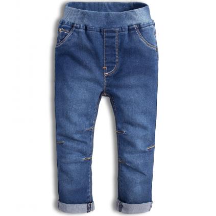 Detské nohavice KNOT SO BAD WORK modré