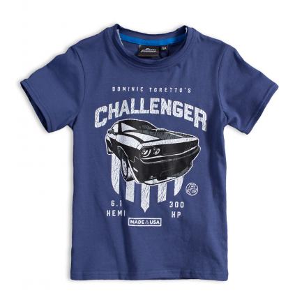 Chlapčenské tričko FAST&FURIOUS CHALLENGER modré