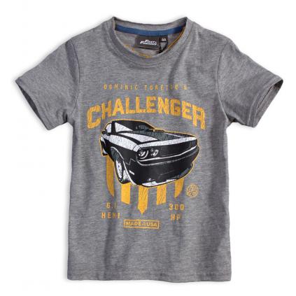 Chlapčenské tričko FAST&FURIOUS CHALLENGER šedé