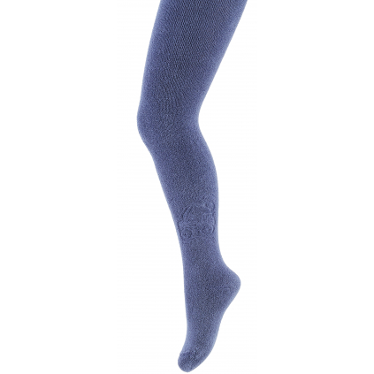 Detské froté pančuchy  BAGER modré