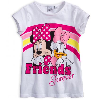 Dievčenské tričko DISNEY MINNIE FRIENDS biele