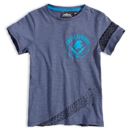 Chlapčenské tričko FAST&FURIOUS TIRE šedé