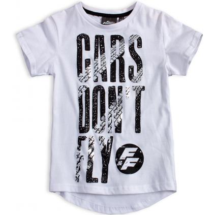 Chlapčenské tričko FAST&FURIOUS CARS DON´T FLY biele