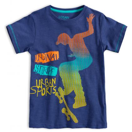 Chlapčenské tričko LOSAN ORIGINAL STRIPE modré